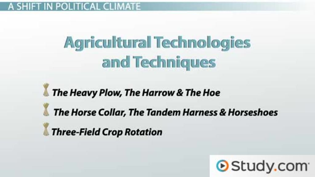 The Medieval Warm Period And New Agricultural Technologies Video