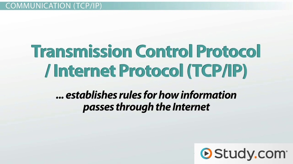 The Internet: IP Addresses, URLs, ISPs, DNS & ARPANET - Video ...