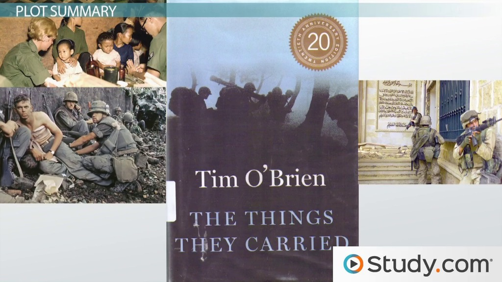 the things they carried literary devices The paperback of the the things they carried by tim o'brien at barnes & noble free shipping on $25 or more literary devices, and historical background the.