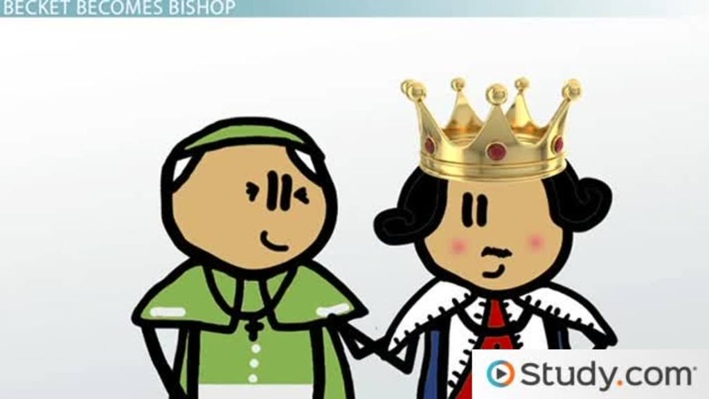 Thomas Becket and the Constitutions of Clarendon - Video & Lesson ...