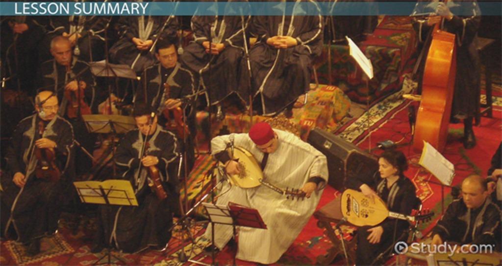 music of west asia  tones  drones  instruments