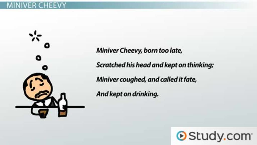 robinson s miniver cheevy and richard cory poem summaries robinson s miniver cheevy and richard cory poem summaries analysis video lesson transcript com