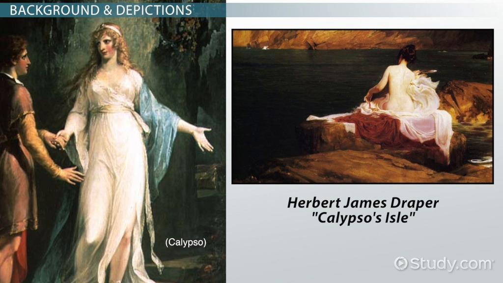Calypso in the odyssey