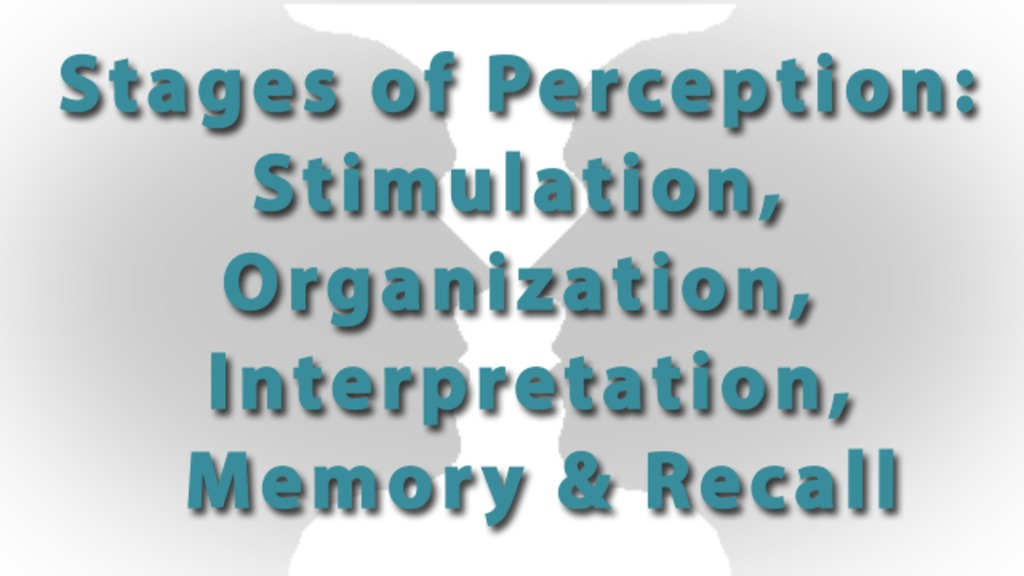 Perception checking essays