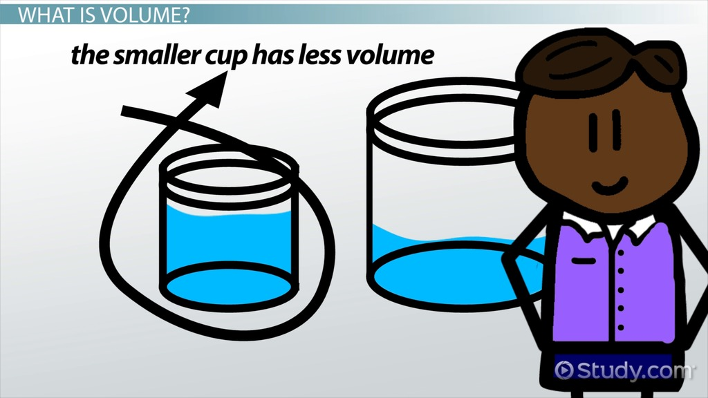 What Is Volume In Science Lesson For Kids Video Lesson