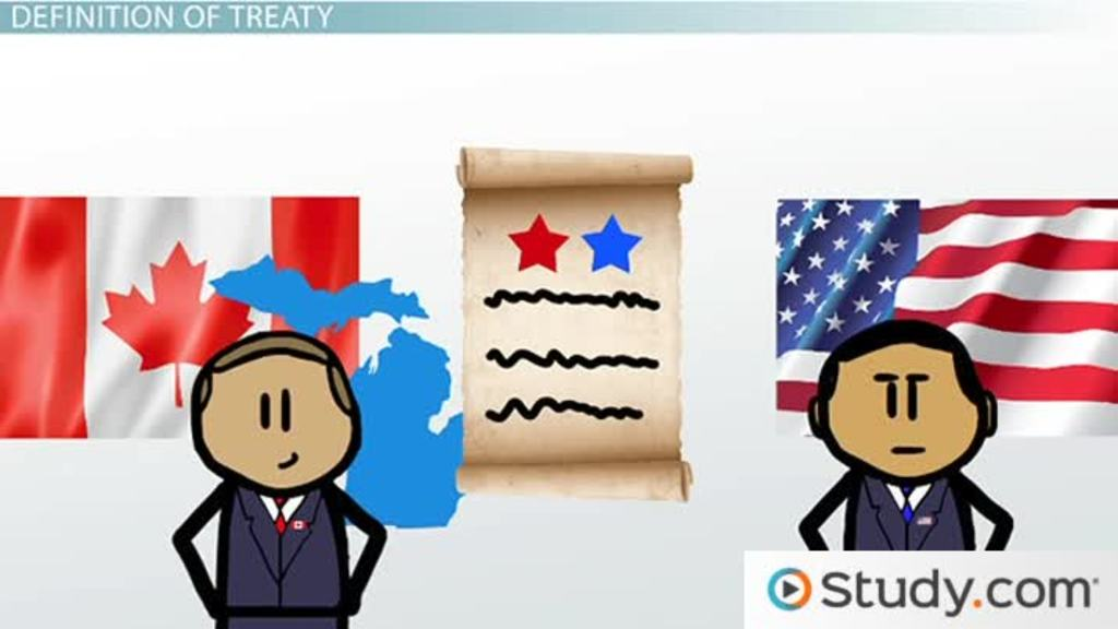 treaties and the law definition amp examples video