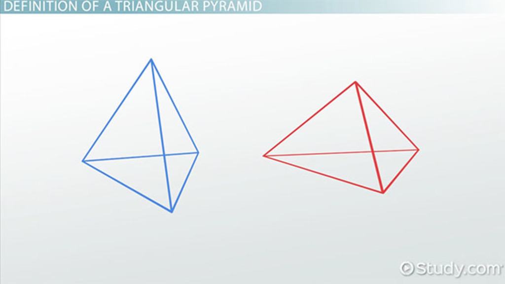Triangular pyramid definition formula examples video lesson triangular pyramid definition formula examples video lesson transcript study fandeluxe Choice Image