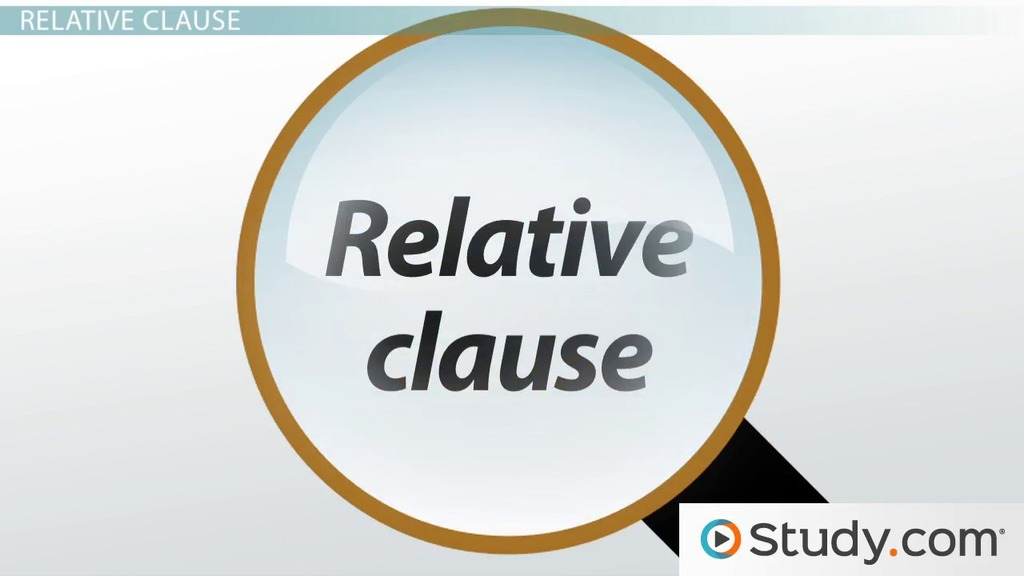 Types Of Clauses Noun Adverbial Relative Clauses Video