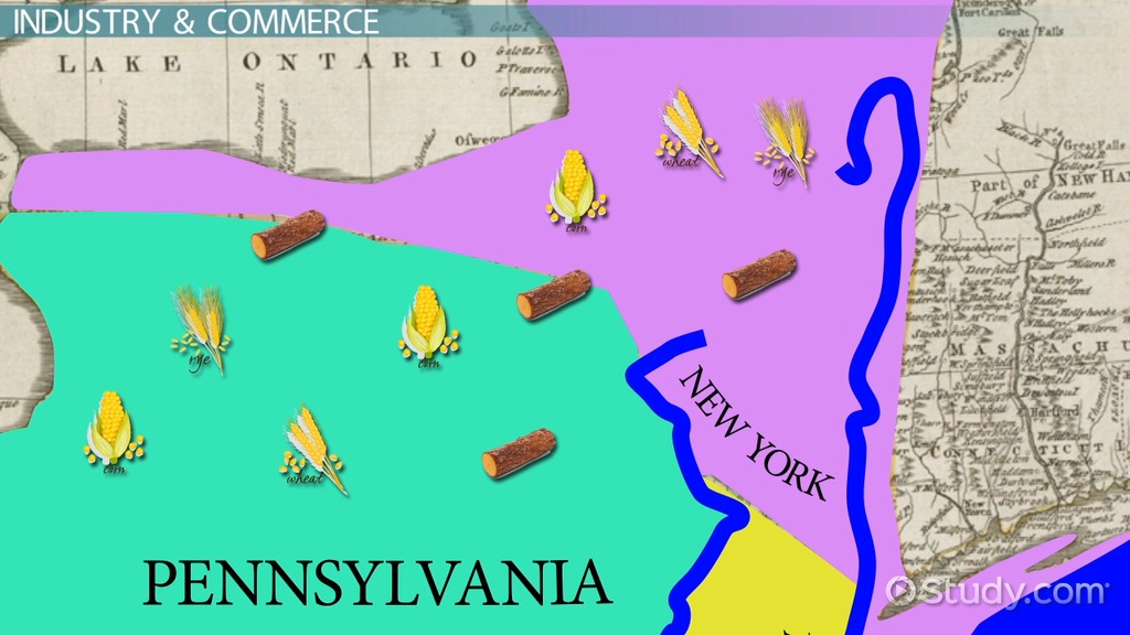 The middle colonies new york delaware new jersey pennsylvania middle colonies geography climate thecheapjerseys Gallery
