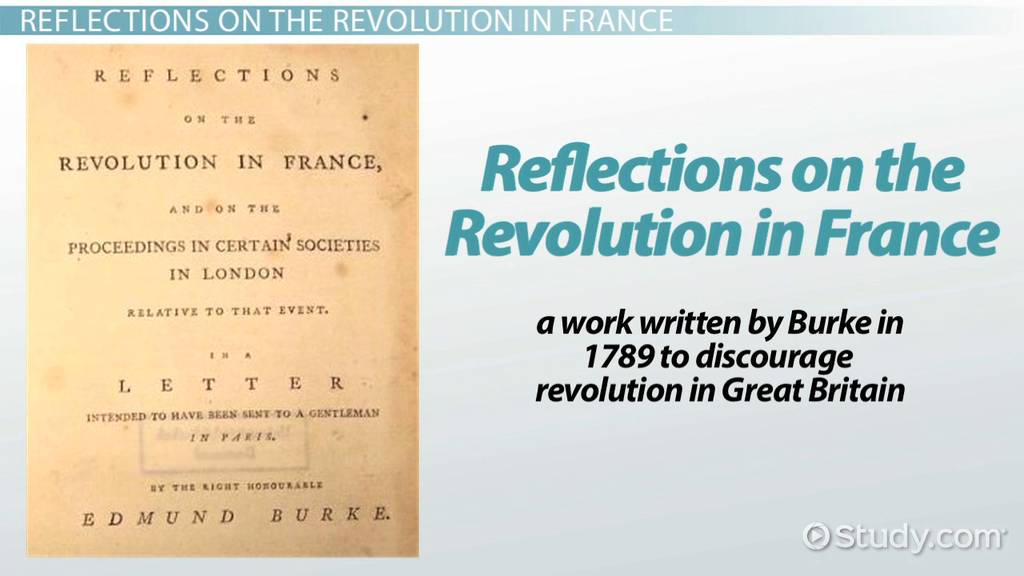 Reflections On The Revolution In France Summary Analysis Video
