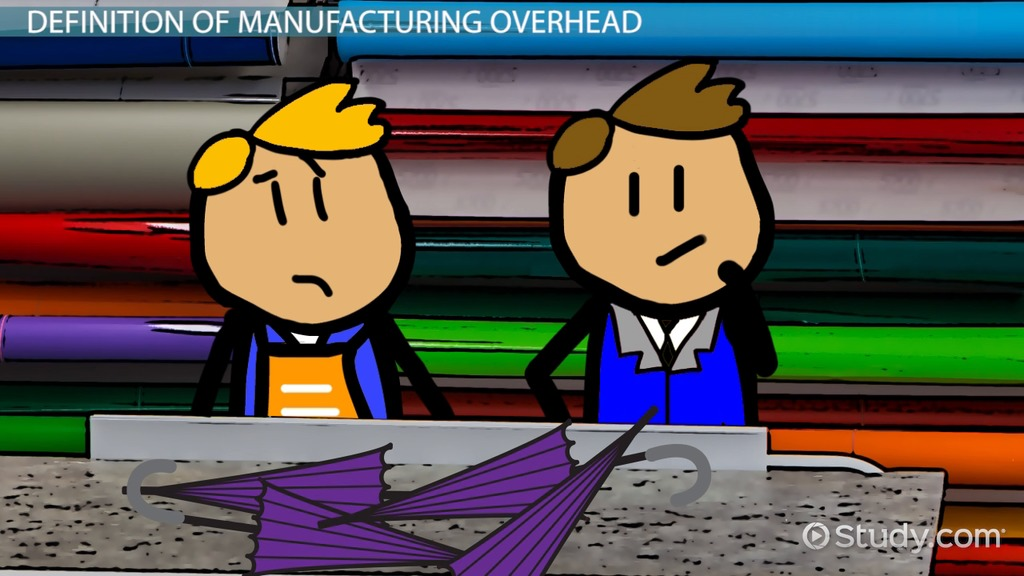 Manufacturing Overhead: Definition, Formula & Examples - Video