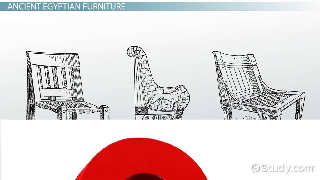 Ancient Egyptian Furniture: History U0026 Design   Video U0026 Lesson Transcript |  Study.com