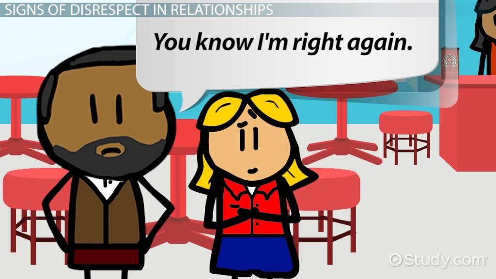 disrespect in relationships  u0026 marriage  signs  u0026 behavior