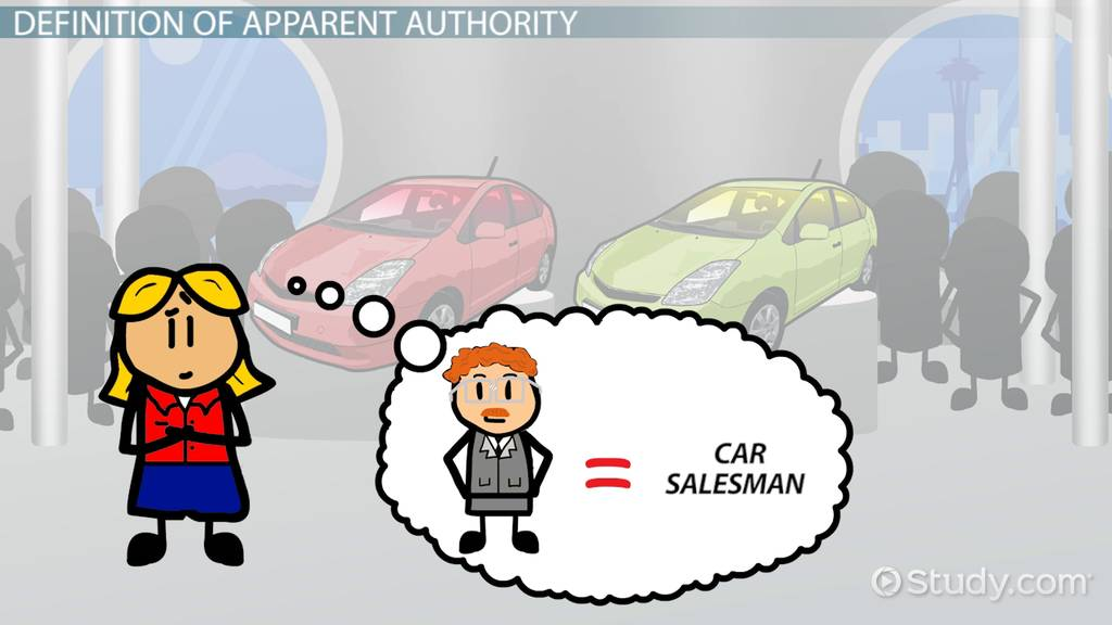 Apparent Authority Definition Cases Example Video Lesson