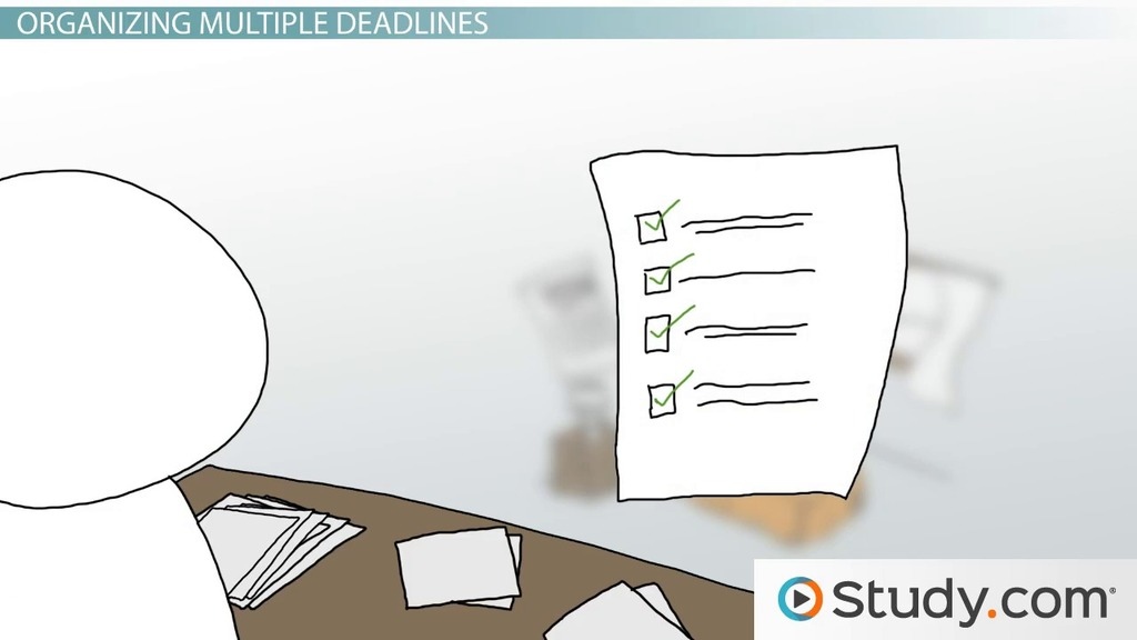 Understanding The College Application Timeline Video Lesson