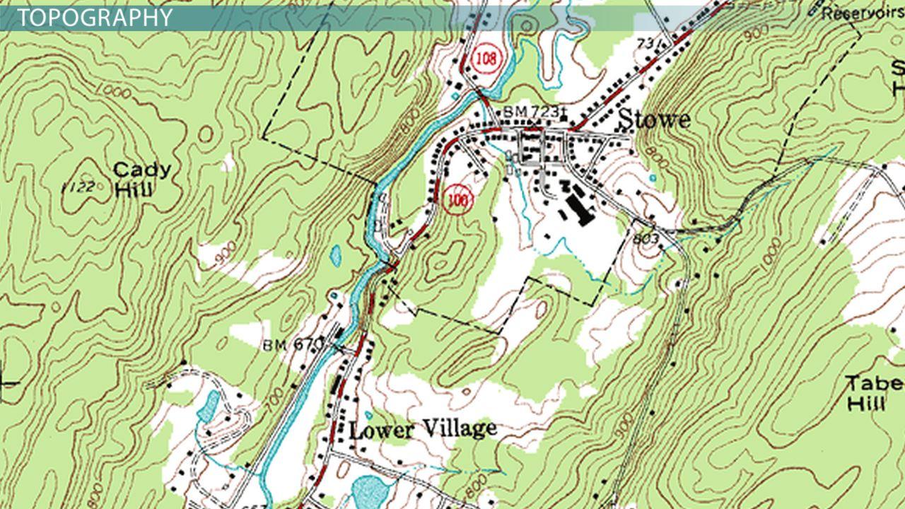 Using & Understanding Topographic Maps - Video & Lesson Transcript ...