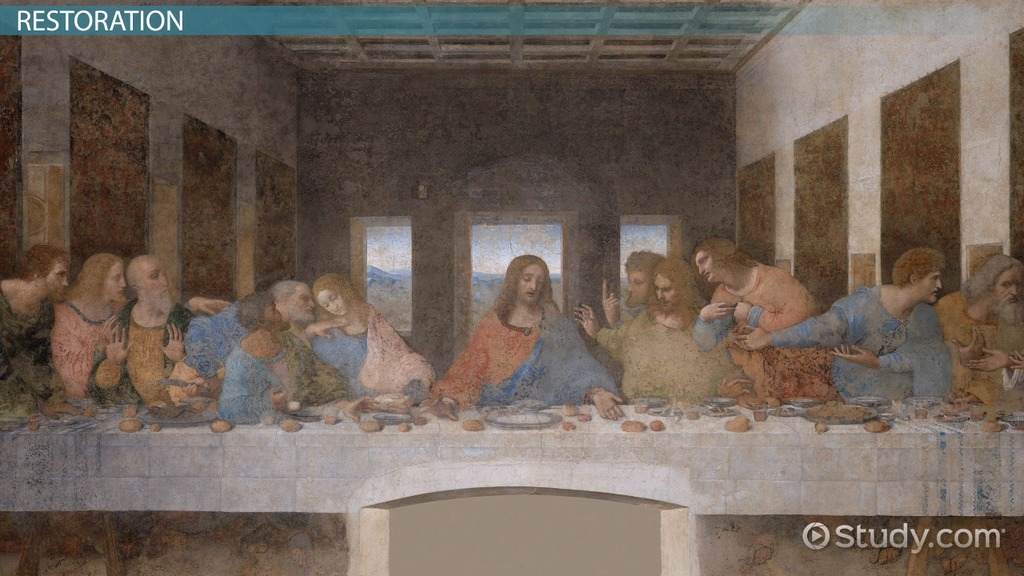 The Last Supper By Da Vinci Facts Location Video Lesson