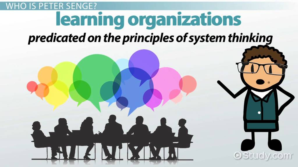 peter senge learning organizations amp systems thinking