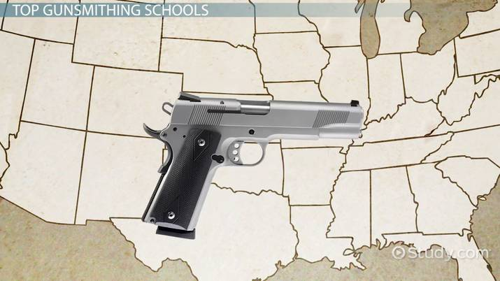 List of the Top Gunsmithing Schools in the U S