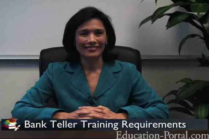 Bank Teller Video Training Requirements For Tellers