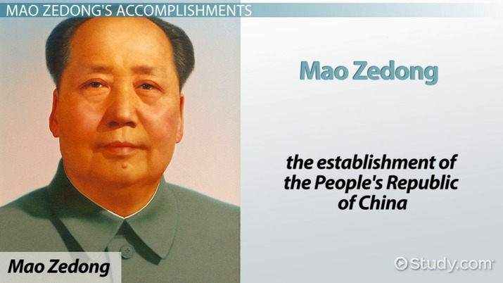 Mao Zedong: Biography, Facts & Accomplishments - Video & Lesson