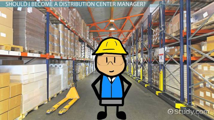How to Become a Distribution Center Manager
