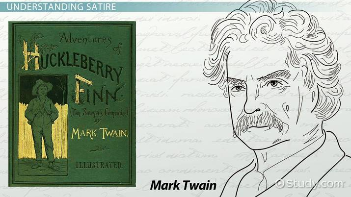 Satire In The Adventures Of Huckleberry Finn Examples Quotes