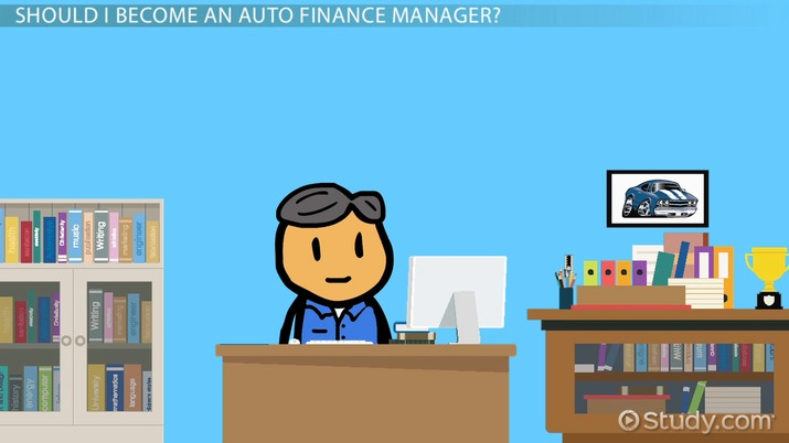how to become an auto finance manager career roadmap