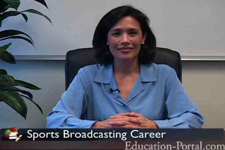 Sports Broadcasting Professions Video Becoming A Sports Broadcaster