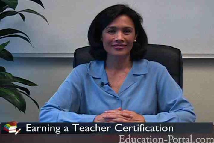 Teacher Certification Video Earning A Teaching Certification Or