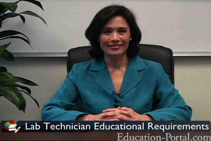 Lab Technician Video: Educational Requirements for Laboratory Technicians