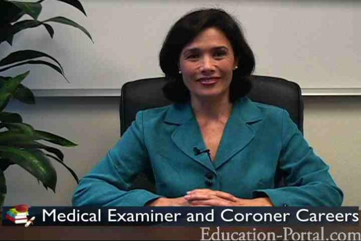 Medical Examiner and Coroner Professions Video: Training and ...