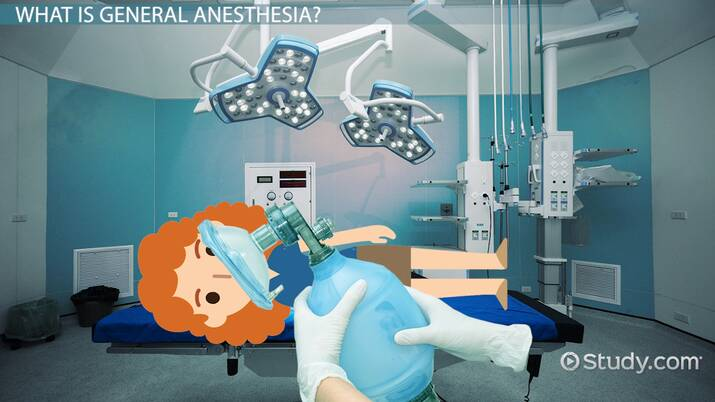 General Anesthesia vs. Local Anesthesia - Video & Lesson Transcript |  Study.com