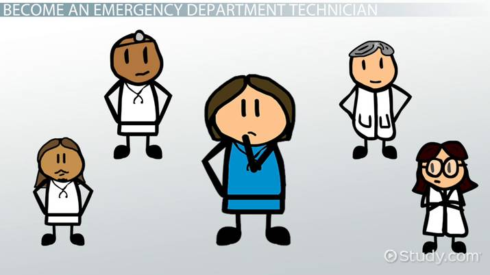 How to Become an Emergency Department Technician