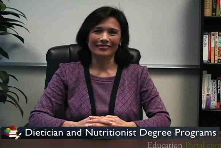 Dietician And Nutritionist Degree Programs And Career Video