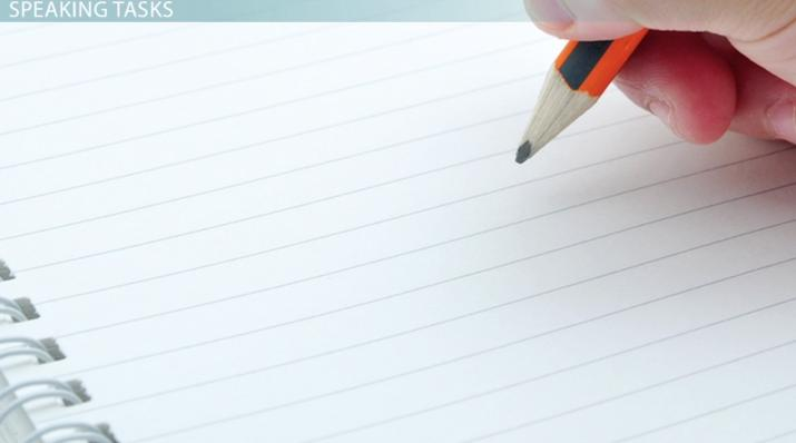How to Take Notes for the TOEFL Speaking Tasks