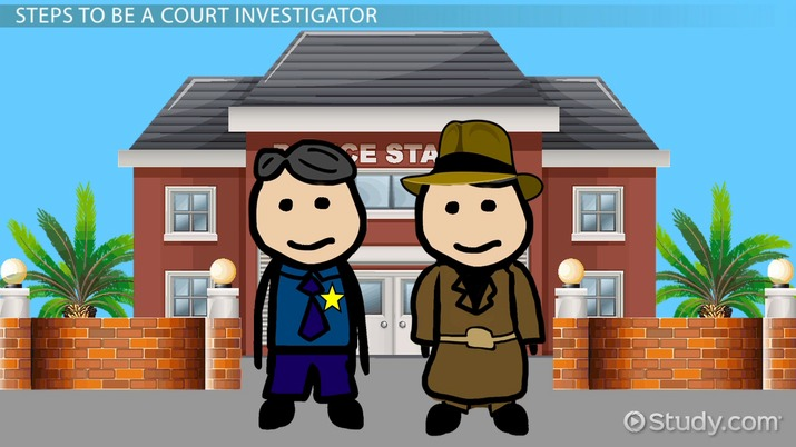 How To Become A Court Investigator Career Roadmap