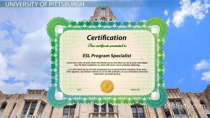 top schools for esl teaching