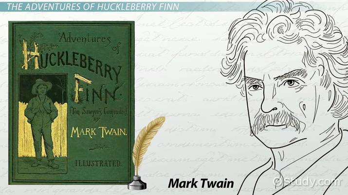 symbolism in the adventures of huckleberry finn