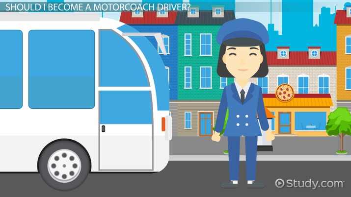 Be a Motorcoach Driver: Job Description, Duties and Requirements