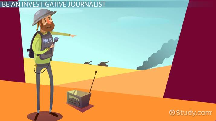 Become An Investigative Journalist Education And Career Roadmap