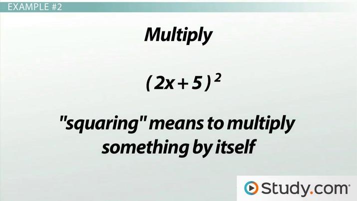 Multiplying Binomials Using Foil The Area Method Practice