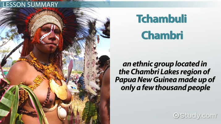 Tchambuli Tribe: Culture & Gender Roles - Video & Lesson