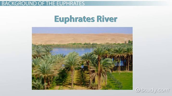 Euphrates River in History: Facts, Map & Role in