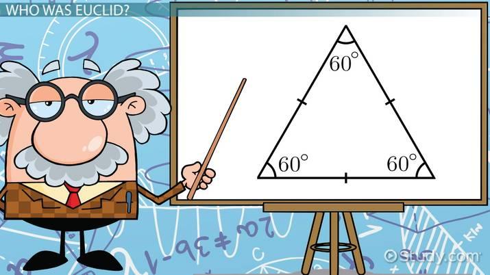 Differences Between Euclidean & Non-Euclidean Geometry - Video