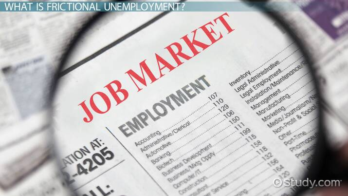 Frictional Unemployment: Definition & Examples - Video & Lesson