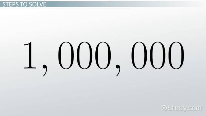 How Do You Write 4 Million In Numbers