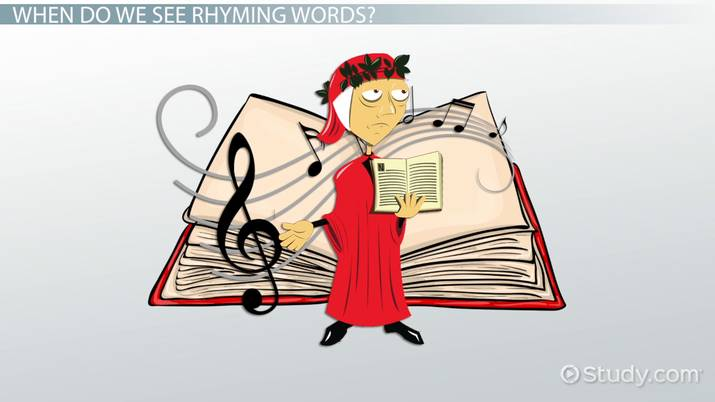 Rhyming Words: Lesson for Kids - Video & Lesson Transcript
