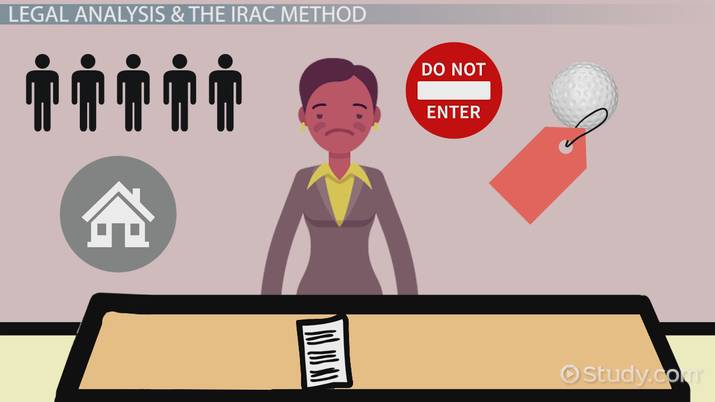 how to brief a case using the irac method