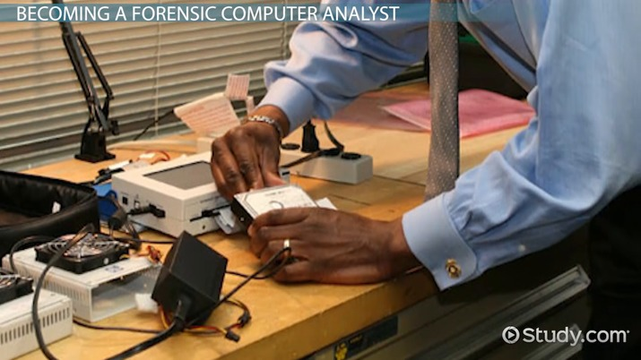 how to become a computer forensic